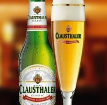 Cerveza Clausthaler sin alcohol. Um projeto de Publicidade de Victor Javier valera Jimenez         - 09.07.2014
