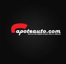 CapoteAuto.com - Logo. Un proyecto de Diseño gráfico de Alessio Pellegrini         - 17.01.2014