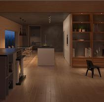 Vivienda . A 3D&Interior Architecture project by Maria Gonzalez         - 12.12.2014