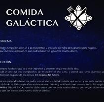 COMIDA GALÁCTICA . A Product Design project by Sandra Morán Caldera         - 15.12.2014