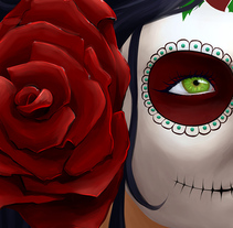 Catrina. A Design, Illustration, and Graphic Design project by Alejandra Salas Burgos         - 15.12.2014