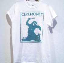 Diseño Camiseta Ceremoney - 2015 Odisea en el ciberespacio. A Music, Audio, Art Direction, Br, ing, Identit, Fashion, Fine Art, and Graphic Design project by Carlos  González Castrillo         - 15.10.2014