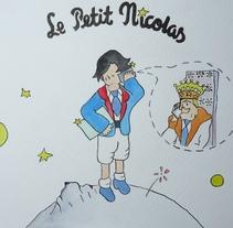 'Le Petit Nicolas'. A Illustration project by José A. Romero2         - 29.11.2014