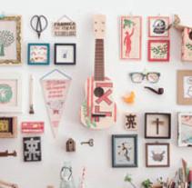 Portada Visual diciembre 2014. Un proyecto de Artesanía, Dirección de arte, Diseño, Diseño editorial, Diseño gráfico y Fotografía de Vudumedia  - Miércoles, 31 de diciembre de 2014 00:00:00 +0100
