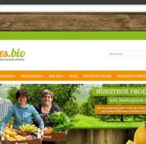 oranges.bio. Um projeto de Web design e Desenvolvimento Web de Gema R. Yanguas Almazán         - 14.12.2014