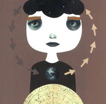El círculo estelar. Um projeto de Ilustração, Artes plásticas e Colagem de Helena Pallarés         - 13.01.2015