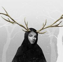 Winter fable. Un proyecto de Ilustración de Jose Barrero - 21-03-2014