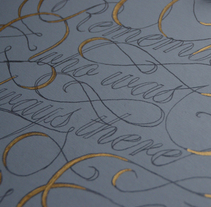 Remember. Um projeto de Design, Design gráfico, Tipografia e Escrita de Victor Alonso Laguna         - 18.01.2015