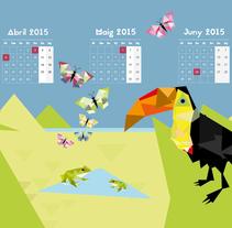 Mi Proyecto del curso Ilustrando el tiempo. Un proyecto de Ilustración de gbeltri - 18-01-2015
