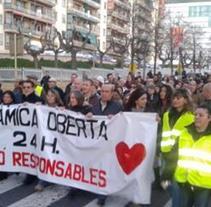 Tancament a la Delegació de Sanitat Tarragona. Un proyecto de Televisión de Javier Mostacero Carrera - 16-01-2015