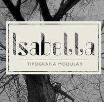 Isabella Type. A Design, T, pograph, and Writing project by Alba González Donado         - 11.01.2015