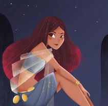 En el tejado. Un proyecto de Ilustración de Lydia Sánchez Marco - 24-01-2015