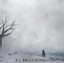 Cartel película El Destierro. A Design&Illustration project by Oscar Giménez - 27-01-2015