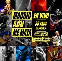 MADRID AUN ME MATA. Um projeto de Design, Música e Áudio, Fotografia e Escrita de Javi G. Espinosa - 04-02-2015