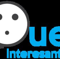 """Diseño de logo para Blog """"Que Interesante"""". Un proyecto de Br, ing e Identidad y Diseño gráfico de Joel Zuñiga - 07-02-2015"""