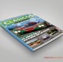 Clásicos Exclusivos. Um projeto de Design editorial de Domingo Melero Pérez         - 14.02.2015