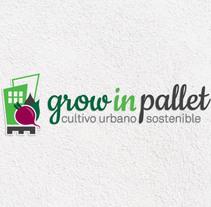 Grow in pallet. Um projeto de Br e ing e Identidade de lilly maldonado         - 13.03.2013