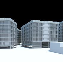 Ejercicio de densidad - A IV - Cátedra Explora. Um projeto de Arquitetura de Maria Celeste Albertini         - 26.06.2014
