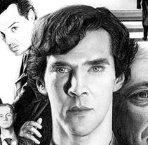Sherlock. A Film, Video, TV&Illustration project by Joaquín  Rodríguez - 03.03.2015