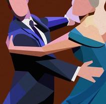 Baile serie I. Um projeto de Ilustração e Artes plásticas de Fco Javier Roman Martinez         - 28.02.2015