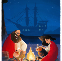 Piratas. A Illustration project by Guillermo         - 07.03.2015