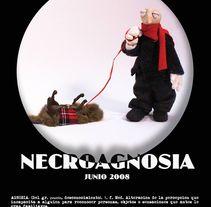 """Corto """"Necroagnosia"""". Stopmotion. Um projeto de Animação, Design de personagens, Artes plásticas e Vídeo de Cristina DM Marín - 07-03-2015"""