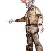 Esbozos, línea y personajes a la acuarela. Un proyecto de Ilustración de Iker Sticher Carrera         - 08.03.2015