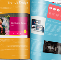 Mi Proyecto del curso  Introducción al Diseño Editorial. A Design, Photograph, Editorial Design, and Graphic Design project by Diego Marquez - 08-03-2015
