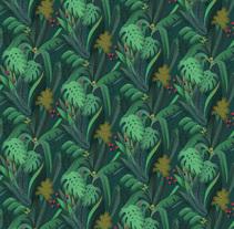 Hard Rock Hotel Wallpapers. A Design&Illustration project by Caroline Selmes - 03.10.2015
