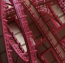 Urban Knots. Un proyecto de Diseño, 3D y Dirección de arte de JVG         - 14.03.2015