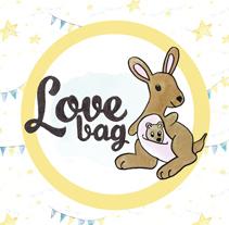 Diseño gráfico de la identidad corporativa Lovebag. Un proyecto de Ilustración, Br, ing e Identidad, Bellas Artes, Diseño gráfico y Packaging de Marta Fernández         - 17.03.2015
