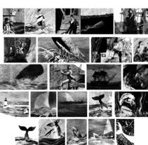 moby dick, relato grafico ilustrado. Un proyecto de Ilustración de Marcelo Spotti         - 21.03.2015