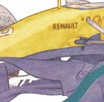 Infografía R28 ·ilustración editorial·. A Illustration project by Fernando Llorente - Dec 12 2007 12:00 AM