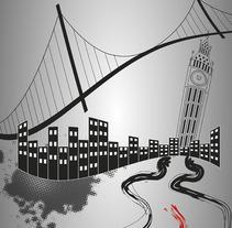 Cities of the World. Um projeto de Ilustração de Lander Santos Pego         - 23.03.2015
