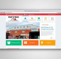 NEYBE. Um projeto de Web design e Desenvolvimento Web de Fiebre Creativa         - 17.11.2014