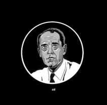12 angry men. A Illustration project by Roger Crespo Garriga         - 24.03.2015