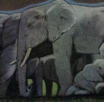 Elefantes. A Fine Art project by Andrés López         - 21.06.2014