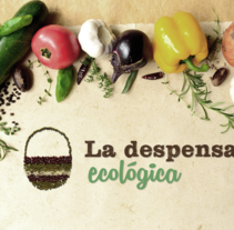 Identidad y Diseño Web para La Despensa Ecológica. A Br, ing, Identit, Editorial Design, Graphic Design, and Web Design project by Muak Studio | Visual Communication Strategies         - 21.04.2015
