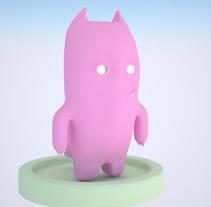 Demonio Rosa . Um projeto de 3D e Animação de Àlvaro Tobar Orte         - 04.05.2015
