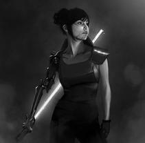 The Force. Un proyecto de Ilustración y Diseño de personajes de Jose Barrero - 05-05-2015