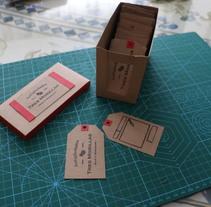Tu precio y tarjeta de visita a la antigua.. Um projeto de Design gráfico de Ernesto Montoro Escamilla - 05-05-2015