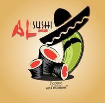 Al-Sushi (Fución de Comida Japonesa y Mexicana). Um projeto de Design de lalorocha21         - 09.05.2015
