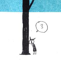 El escondite. A Illustration, and Animation project by Inés Sánchez         - 17.05.2015
