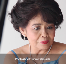 Behind the scenes: Photoshoot Nora Estimada. A Film, Video, TV, and Post-Production project by Roderick Estimada - 17-05-2015