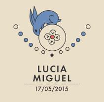 Lucia y Miguel. Un proyecto de Ilustración, Diseño gráfico y Packaging de Heroine Studio - 19-05-2015