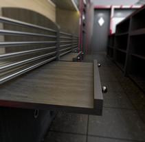 Previsualización tienda. Un proyecto de 3D y Arquitectura interior de Luca Sorrusca         - 24.05.2015