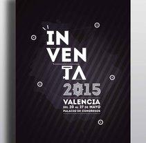 """Cartel """"Inventa"""".. A Graphic Design project by Pedro Sánchez González         - 25.05.2015"""