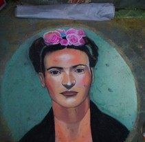 Frida Kahlo 2. A Fine Art project by Andrés López         - 23.05.2015