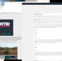 Gestión de Blogs. Un proyecto de Publicidad, Br, ing e Identidad, Diseño de la información y Marketing de Fran Bravo         - 27.05.2015