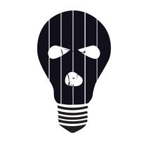 Mucha Lampara. Logo.. Un proyecto de Br, ing e Identidad y Diseño gráfico de Camila Bernal         - 23.09.2014